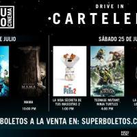 CARTELERA DE LA CUARTA SEMANA DE PROYECCIONES EN EL AUTOCINEMA ARENA CIUDAD DE MÉXICO OPEN AIR