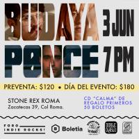 BUDAYA & PONCE EN EL FORO INDIE ROCKS!
